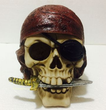 Gothic PIRATE DAGGER Skull Head Skeleton Nemesis SK241